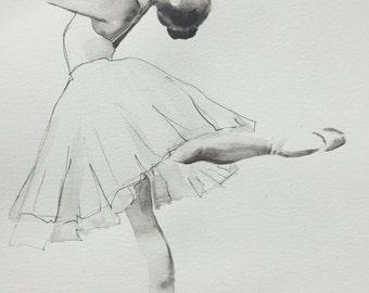 Ballerina II GICLEE PRINT on fine art paper