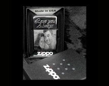 Photo engrave, Personalized Zippo Lighter in Zippo Box, 1 side engrave