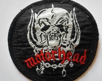80's Motorhead Patch