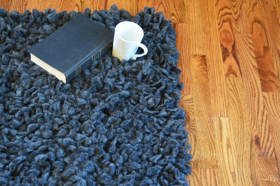 Alpaca Shag Rug from Broadwick Fibers