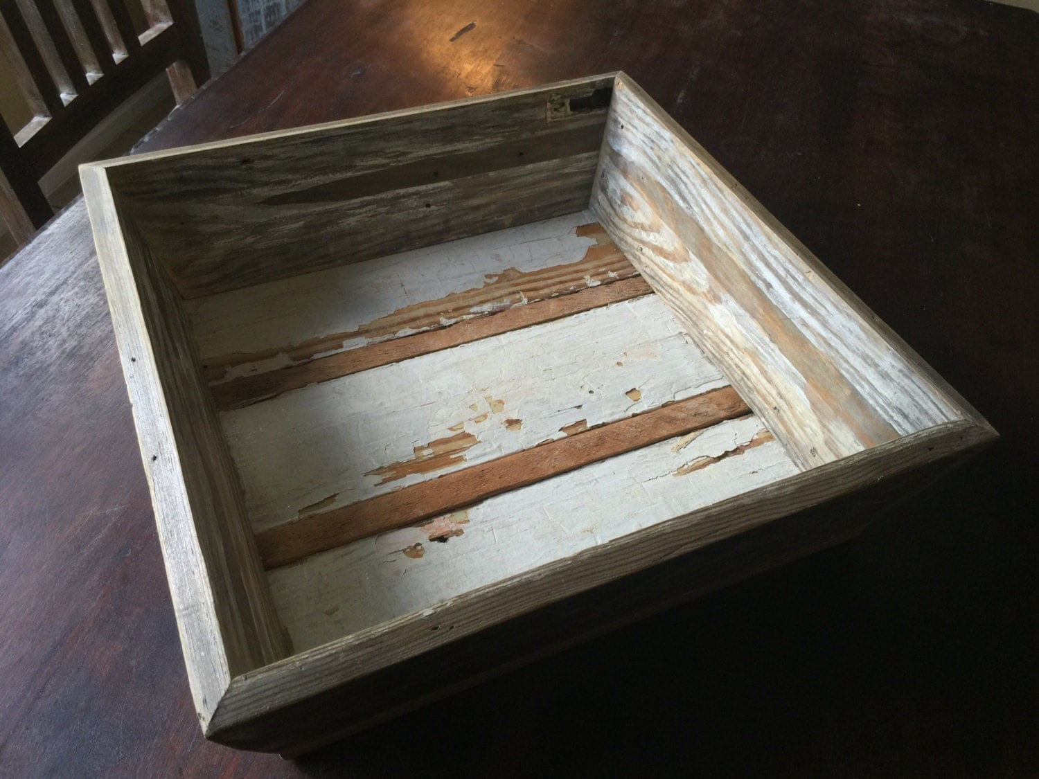 18 Barn Wood Tray Reclaimed Wood Tray Farmhouse Style