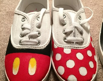 Minnie and Mickey Disney Shoes