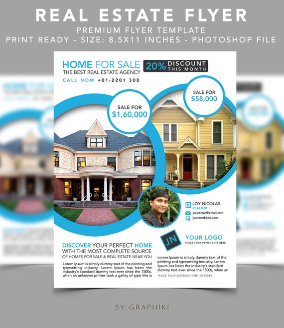 Real Estate Listing Flyer