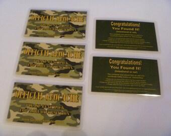 Geocache Stash Cards