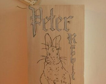 Peter Rabbit Sign