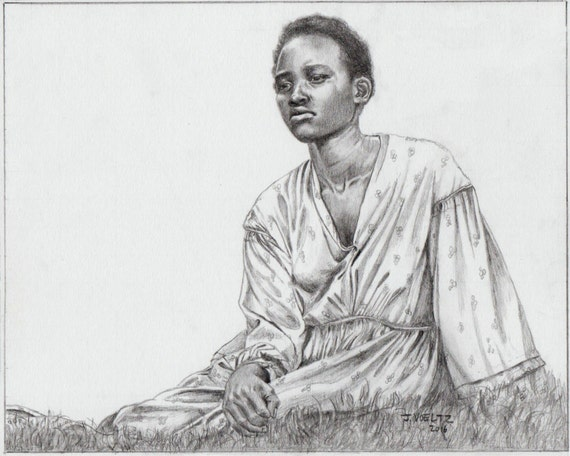 Lupita Nyong'o as Patsey from 12 Years a Slave by TheFluidLine | 570 x 456 jpeg 35kB