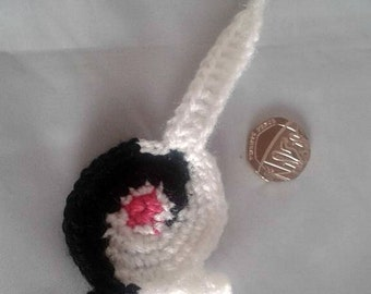 Cat Bum Keyring, crochet Cat Butt, Cat Themed Gift, Unusual Funny gift, Gag Gift, Mini catbum, New home gift, moving home,