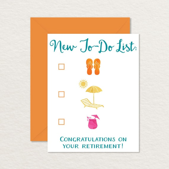 Crush image throughout retirement card printable