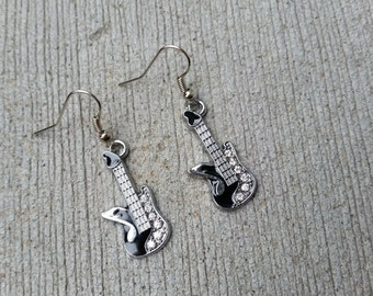 Sale! Electric Guitar Dangle Earrings