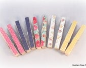Decorative Magnetic Clothespins, Refrigerator Magnets, Bag Clips, Photo Clips, Office Organization, Office Decor, Dorm Decor, Fridge Magnets