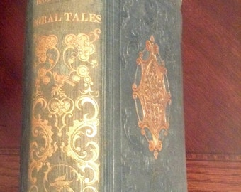 Mrs. Hoflan's Moral Tales - 1852 - Decorative Cover