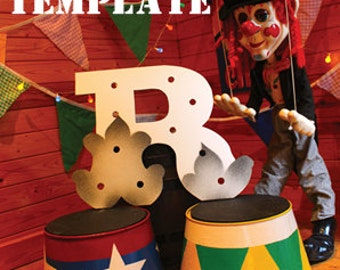 Circus Letter Light R