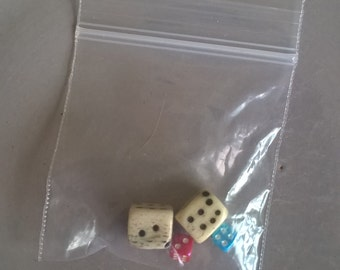 Dicey Business! Four Dice Beads!