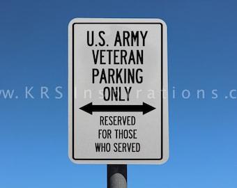 US Army Veteran Parking