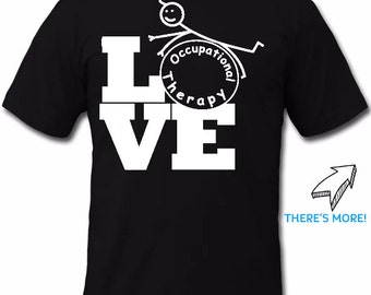 LOVE Occupational Therapy T-Shirt T-Shirt Tank Top Long Sleeve 46