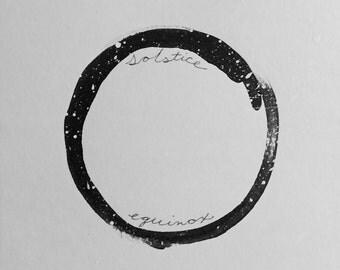 Tao; Solstice Equinox - 5 x 5.5 in