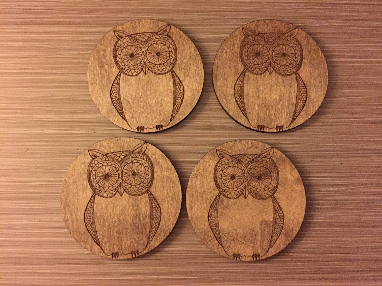 Very Cute Owl Coasters