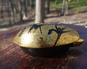 Lacquered Turtle Trinket Box