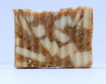 Oatmeal, Milk, and Honey Hand-Milled Goat Milk Soap