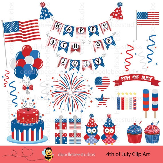 4th of July Clipart 4th of July Clip Art America Clipart