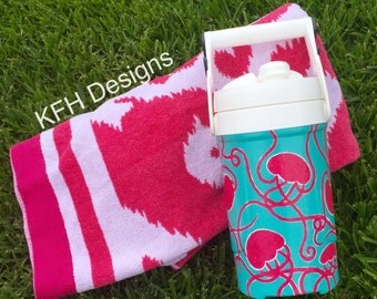 Hand painted chug jug, hand painted cooler jug, hand painted water jug, custom painted jug