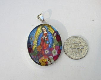 Mother of Guadalupe pendent