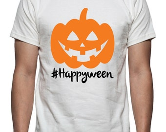 Happyween Tee Shirt Design, SVG, DXF, EPS Vector files for use with Cricut or Silhouette Vinyl Cutting Machines