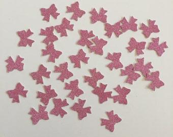 Glitter Bow Confetti