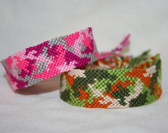 Camo Friendship Bracelets