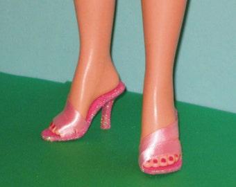 Revlon / Cissy PINK SWIRL Shoes for Miss Revlon, Cissy, 20 inch fashion dolls, high heel doll shoes