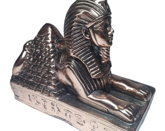 Egyptian Sphinx Figurine Statue
