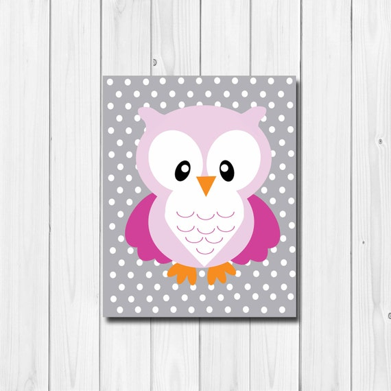 Owl Baby Decor Woodland Themed Nursery Owl By Thekgcollection