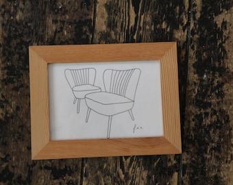 retro Chair nr 1