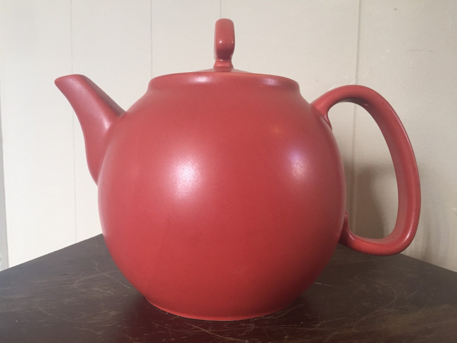 Chantal teapot red chantal teapot red teapot vintage by speckadoos - Chantal teapots ...