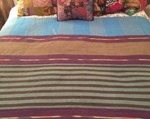 Vintage Kantha Quilt/ Ralli Blanket (LargeC-30)
