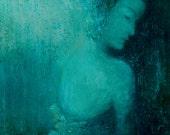 Female Painting,Figure Painting,Original Fine Art  Painting, Contemporary Wall Art, Modern Art Painting,portrait
