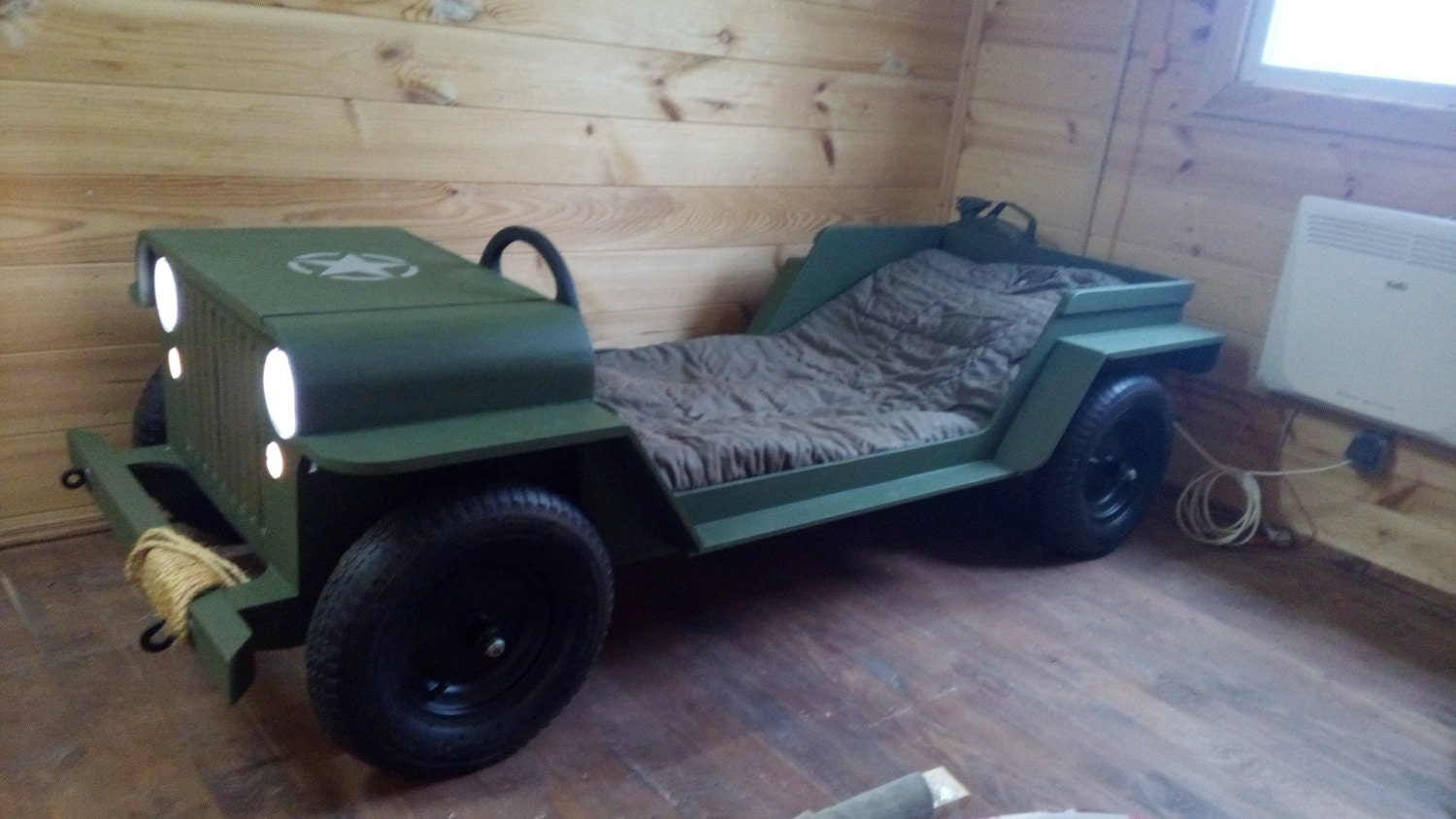Diy Plans Toddler Jeep Bed Plans Toddler Size By