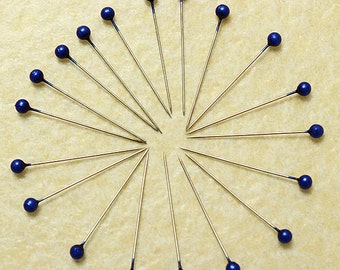 800Pcs Navy Blue Round Pearl Head Pins Weddings Corsage Sewing Pin  ********** US SELLER with Fast Shipping