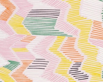 Leah Duncan for Cloud 9: Cenote Voile Fabric from Yucca Collection