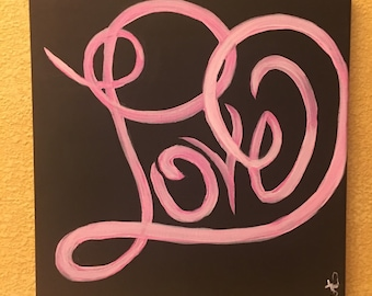 Love is all you need original painting
