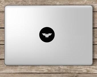 Wonder Woman Marvel Vinyl Laptop Decal Apple Macbook Ipad Home Sticker