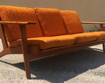 Hans Wegner Teak Ge 290 Sofa for Getama