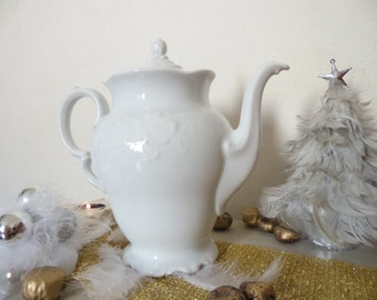 Very pretty coffee white Shabby chic