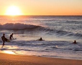 Sunrise Sydney Surfers travel photography landscape print