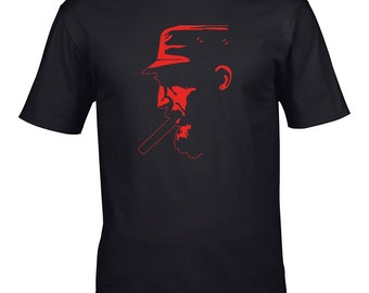FIDEL CASTRO SMOKING - Communist Leader Men's T-Shirt From FatCuckoo - MTS1582
