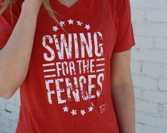 Swing for the Fences Soft Style Tee