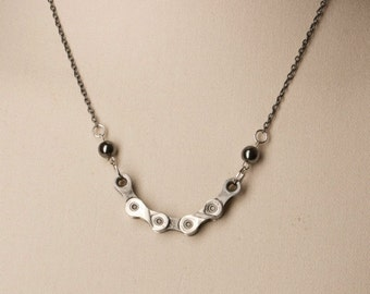 UpCycled Bike Chain Necklace