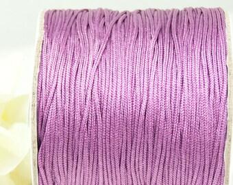 10m macrame belt 0.8, violet article 3567