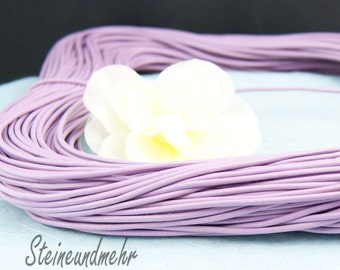 1m leather band Ø2 LILAC way. 3175