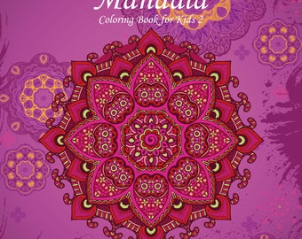 Mandala Coloring Book for Kids 2